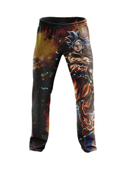 (DBMerch) Ultra Instinct Goku Joggers