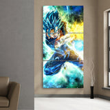 SSGSS Vegito Spirit Sword Wall Canvas