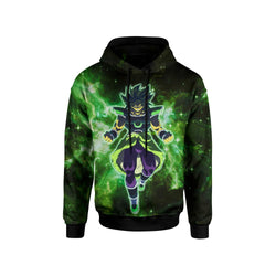 (DBMerch) Yellow Eyed Broly Hoodie