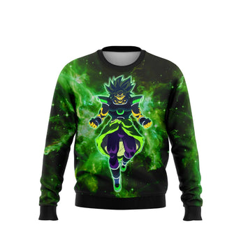 (DBMerch) Yellow Eyed Broly Sweatshirt