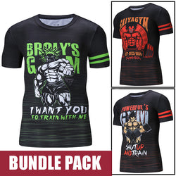 Gym Shirt Bundle Pack - GYM
