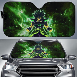 (DBMerch) Yellow Eyed Broly Auto Sun Shades