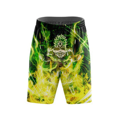 (DBMerch) Full Power Broly Shorts