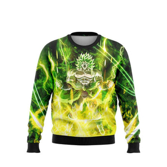 (DBMerch) Full Power Broly Sweatshirt