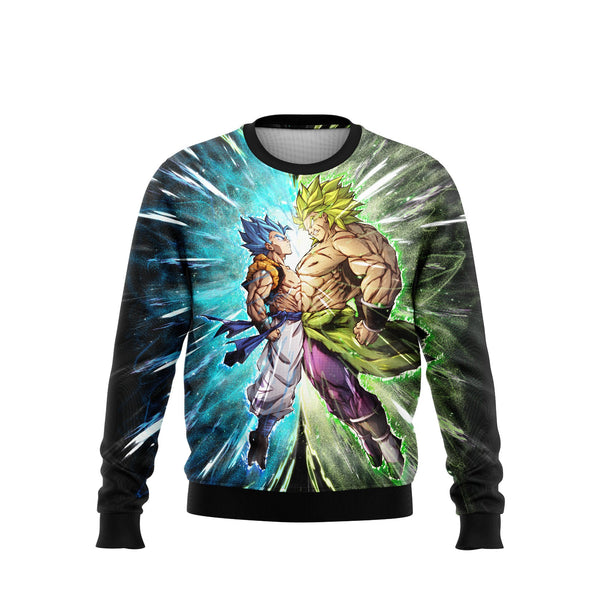 (DBMerch) Gogeta VS Broly Sweatshirt
