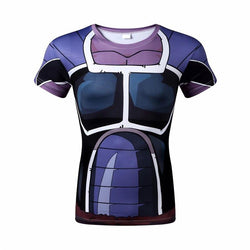 Saiyan Armor Purple