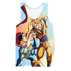 Superman vs Goku Tanktop