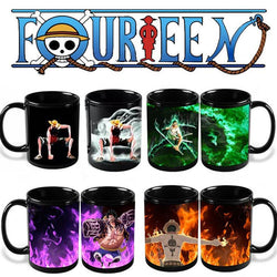 One Piece Heat Reactive Mugs