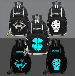 Call of Duty Ghosts Luminous Backpacks