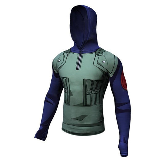 Kakashi Hooded Long Sleeve