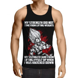 Vegeta - Lifting Myself Up Tanktop