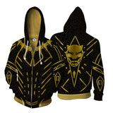 Erik Killmonger Jaguar Suit Zipper Hoodie