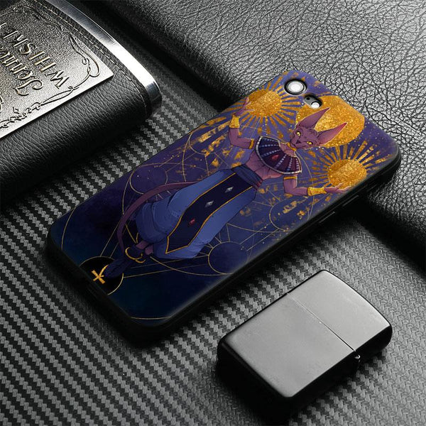 (iPhone) Beerus Soft Silicone Phone Case Cover