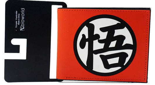 Dragonball Z Wallet with Kanji