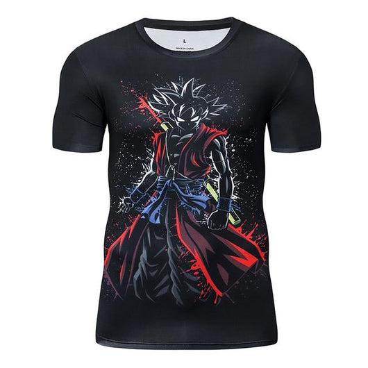 Premium Compression DB Heroes Goku Gym T-Shirt