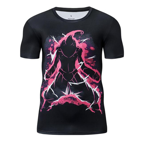 Premium Compression Kid Buu Gym T-Shirt