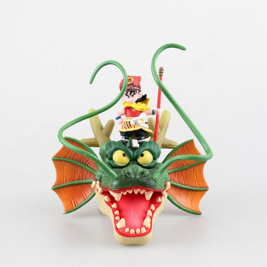 Dragonball Collectable Figure Son Goku & Shenron Head