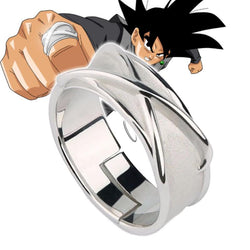 Dragonball Super Silver Time Ring