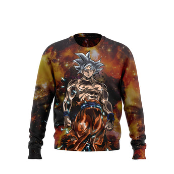 (DBMerch) Ultra Instinct Goku Sweatshirt