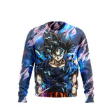 (DBMerch) Ultra Instinct Sign Goku Sweatshirt