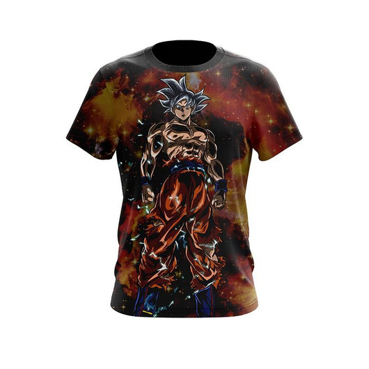 (DBMerch) White Ultra Instinct Goku T-Shirt