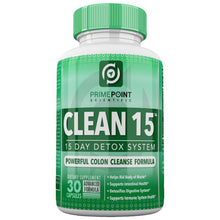Prime Point Scientific CLEAN 15 Advanced Formula Powerful Complete Detoxifying System with: Best Colon Cleanse for Weight Loss, Increased Energy and Bowel Regularity