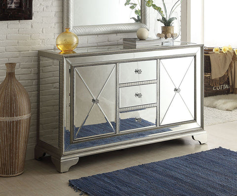 "59"" Decor Style Mirror Relection hall chest Set model # DH-3288   Arron - Chans Furniture"