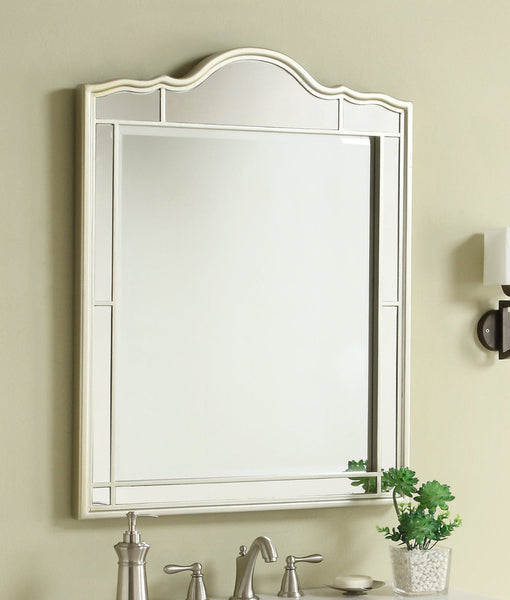 "30"" All mirrored reflection Ashley Bathroom Sink Vanity & Mirror Set   BWV-025/30-FWM-2434 - Chans Furniture - 2"