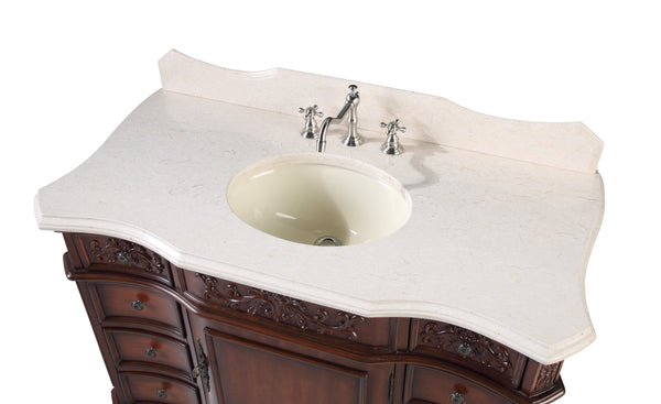 "45"" All wood construction Brookdale Bathroom Sink vanity   Model # 6275M"