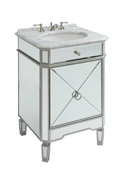 "24"" Benton Collection Mirror Reflection Asger Bathroom Sink Vanity - Model # 5026SL"