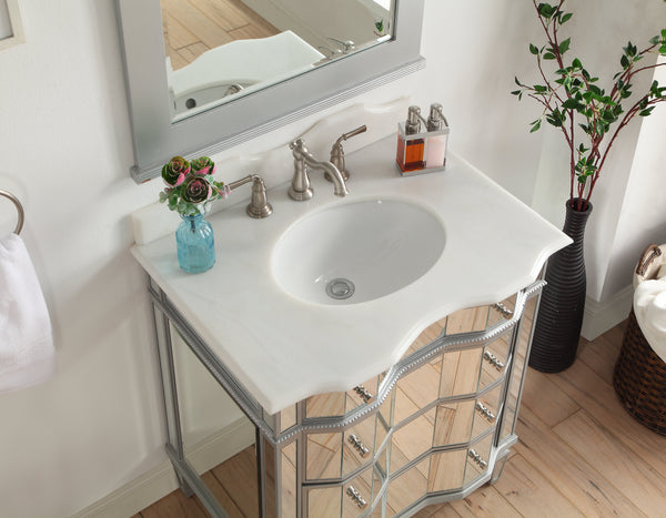 "30"" Ashley Bathroom Sink Vanity - Model BWV-25-30"