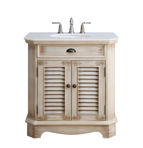 "32"" Fairfield Bathroom Sink Vanity - Benton Collection Model CF-47524W"