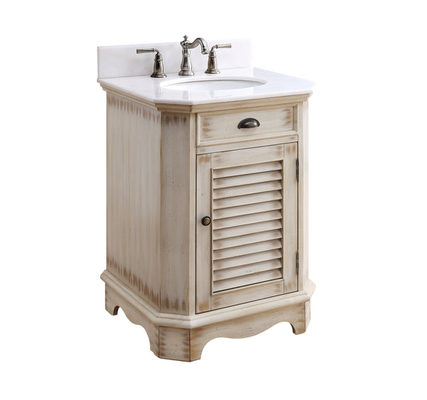 "24"" Abbeville Powder Room Sink Vanity - Benton Collection Model CF-47523A"