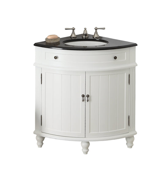 "24"" Thomasville Corner Shape Bathroom Sink Vanity - Model # CF-47533GT"