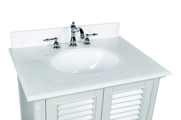"30"" Keysville Bathroom Sink Vanity - Benton Collection Model GD-1087CK"