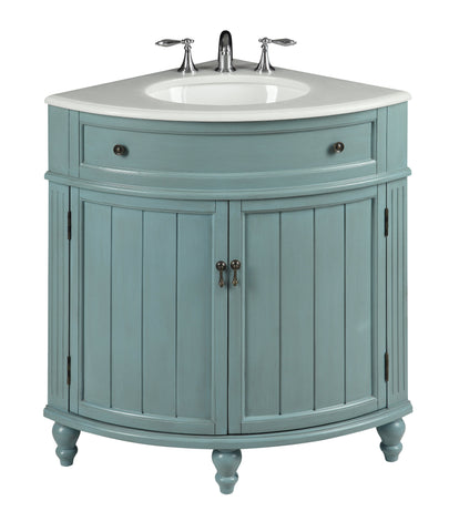 "24"" Benton Collection Thomasville Corner Bathroom Vanity - Model # GD-47544BU"