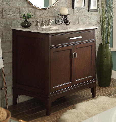 Theron 36-inch Vanity GD-6602-36 - Chans Furniture - 1