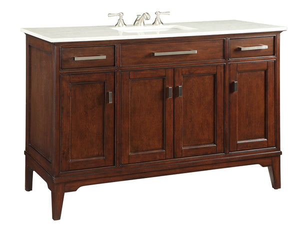 "49"" Benton Collection Theron Bathroom Sink Vanity # GD-6602-48 - Chans Furniture - 5"