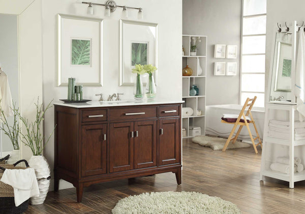 "49"" Benton Collection Theron Bathroom Sink Vanity # GD-6602-48 - Chans Furniture - 4"