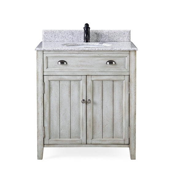 32 Benedetta Distressed Gray Rustic Bathroom Vanity Hf 4244 Bentoncollections