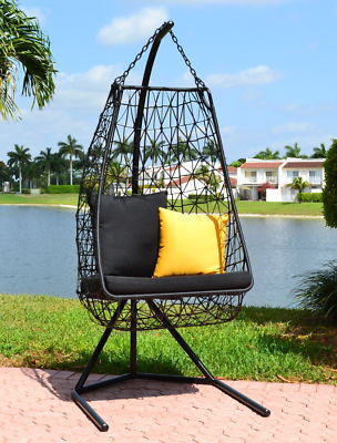 Modern Contemporary Outdoor Swing Chair  Anjuna-Model DL015 - Chans Furniture - 2