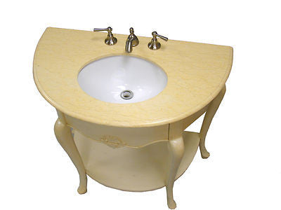 "36"" Space Saver San Marias Bathroom Sink Vanity - HF1107AW - Chans Furniture - 3"