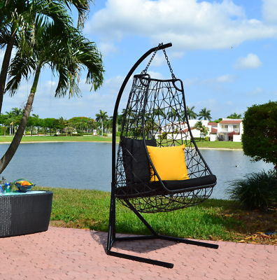 Modern Contemporary Outdoor Swing Chair  Anjuna-Model DL015 - Chans Furniture - 1
