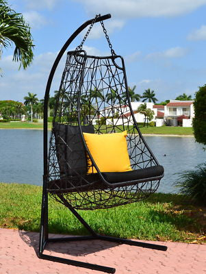Modern Contemporary Outdoor Swing Chair  Anjuna-Model DL015 - Chans Furniture - 3