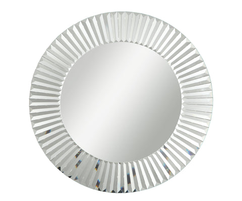 Decor Style 30-inch Wall Mirror M0006 - Chans Furniture