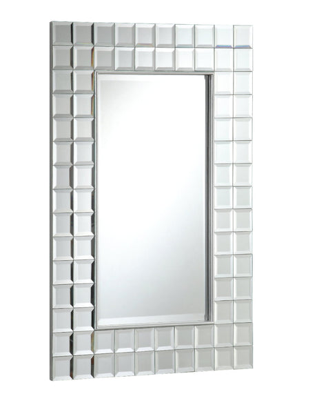 Multi-Squared 24-inch Wall Mirror MR014 - Chans Furniture - 2