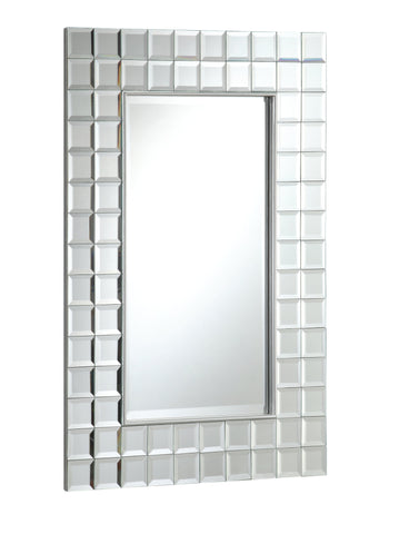 Multi-Squared 24-inch Wall Mirror MR014 - Chans Furniture - 1
