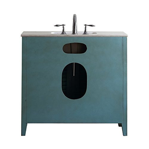 "36"" Abbeville Bathroom Sink Vanity- Benton Collection CF-28884BU"