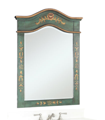 Crossfield 29-inch Wall Mirror MR090GM - Chans Furniture
