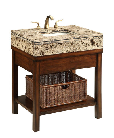 "29"" Cottage Style Darren Bathroom Sink Vanity  model # Q404BN - Chans Furniture - 4"